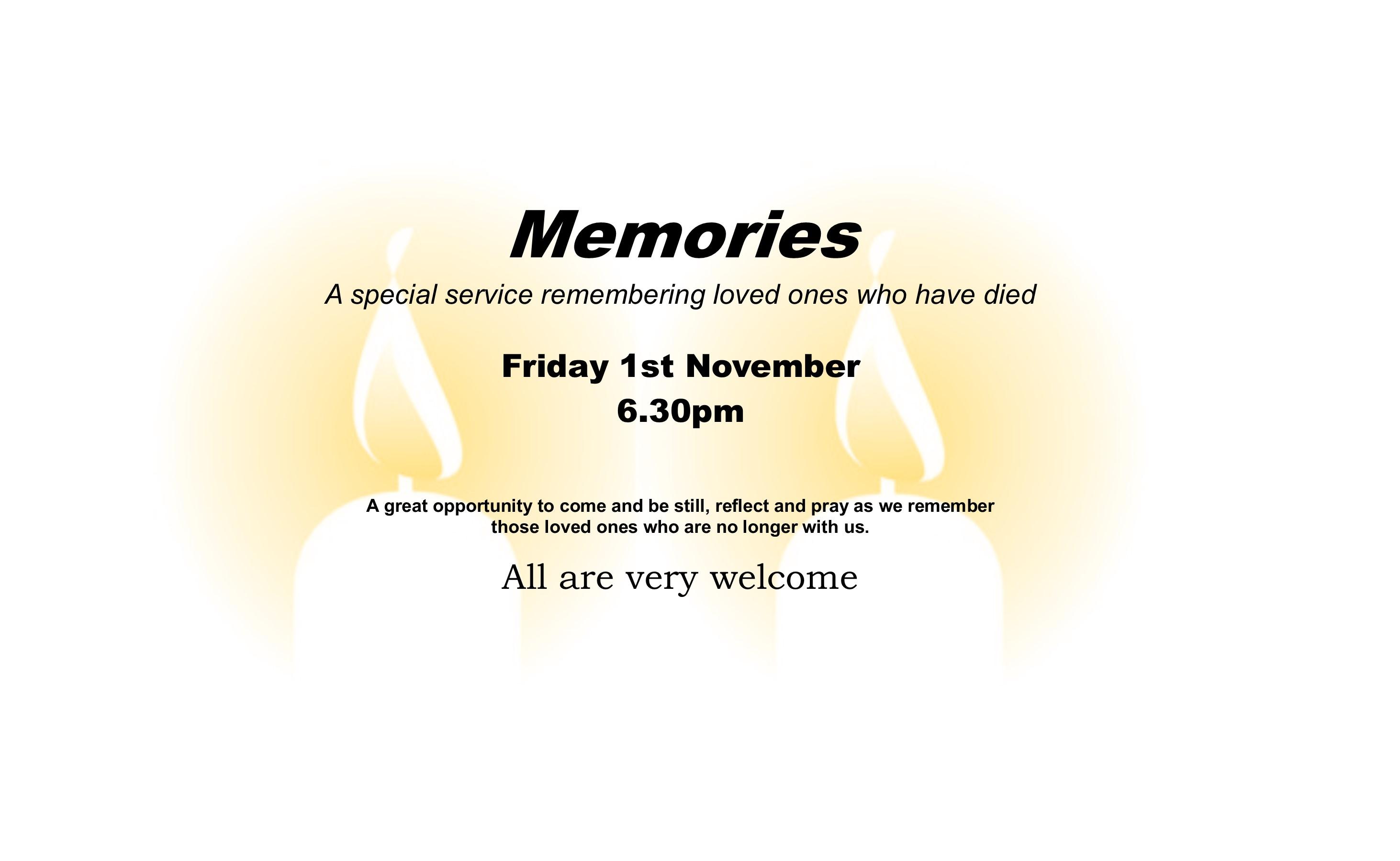 Memories service