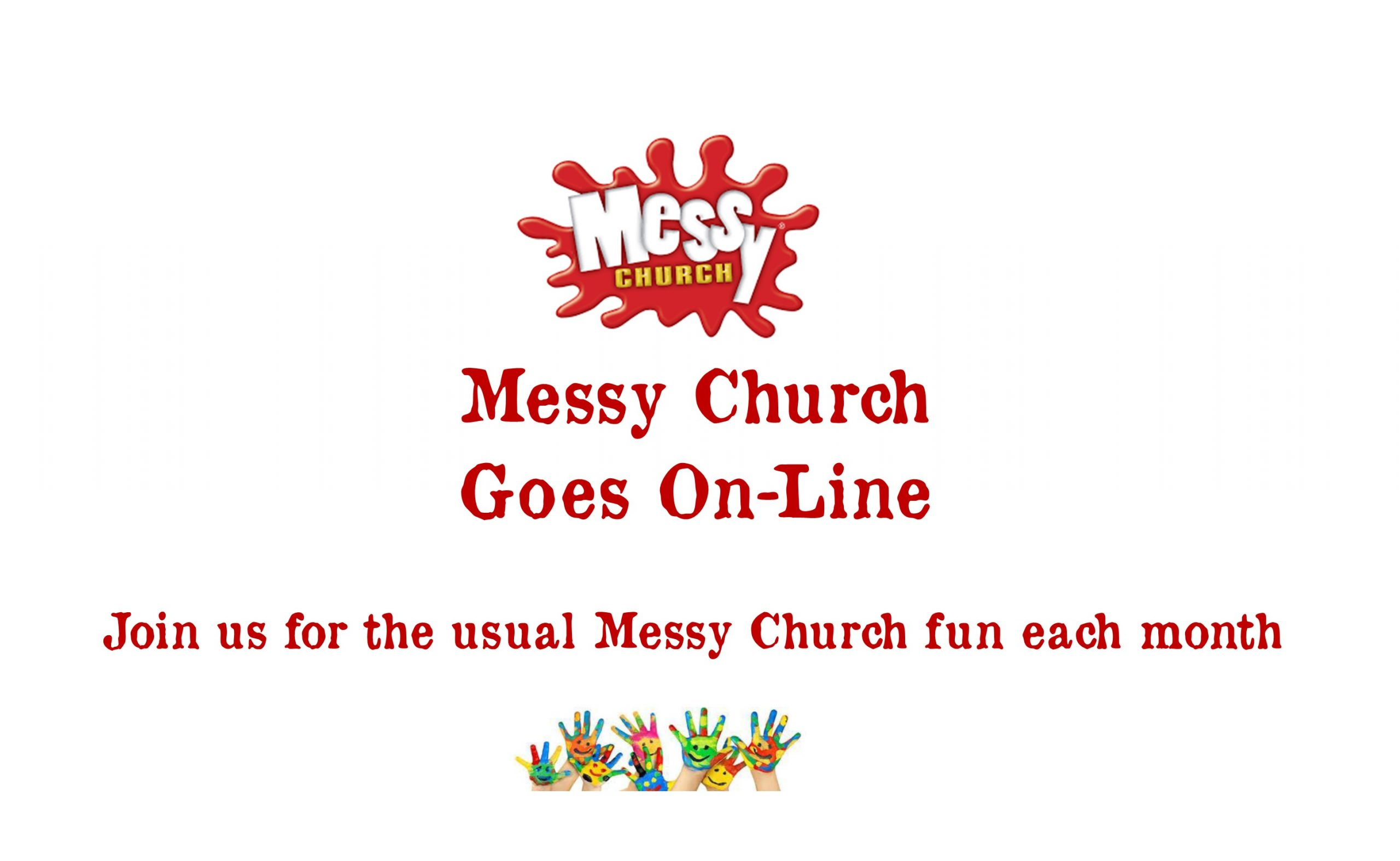 Messy Church Goes Online