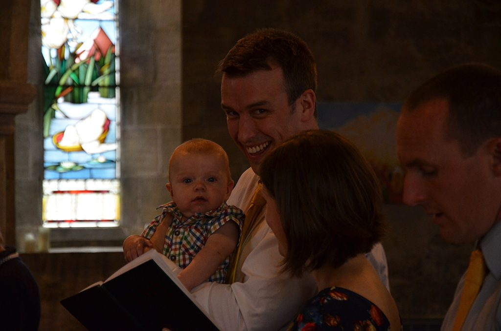 Rory Lewis christening